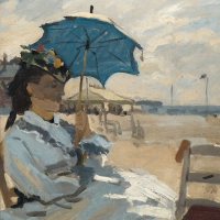 Servietten 33x33 cm - Beach at Trouville