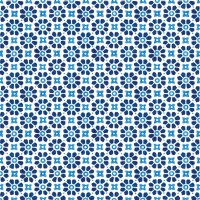 Servietten 33x33 cm - Laureen Blau