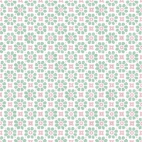 Servietten 33x33 cm - Laureen Green/Rose