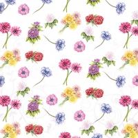 Servietten 33x33 cm - Blumenfest