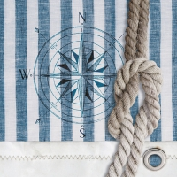 Servietten 33x33 cm - Compass And Rope
