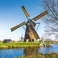 Lunch Servietten Dutch Windmill
