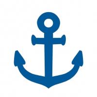 Lunch Servietten Navy Blue