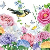Servietten 33x33 cm - Watercolor Bird