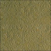 Servietten 33x33 cm - Eleganz Olivgrün