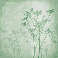 Servietten 33x33 cm - Floral Harmony Green