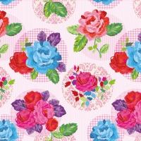Servietten 33x33 cm - Modern Rose Pink