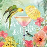 Servietten 33x33 cm - Paradise Delight
