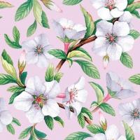 Servietten 33x33 cm - Fleur Rose