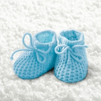 Lunch Servietten Baby Boy Booties