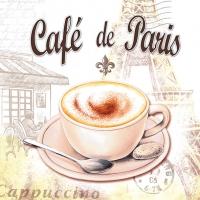 Servietten 33x33 cm - Café De Paris