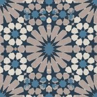 Servietten 33x33 cm - Elino Blue