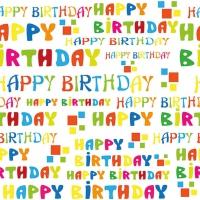 Lunch Servietten Happy Birthday To You