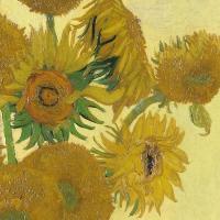 Servietten 33x33 cm - Van Gogh Sunflower
