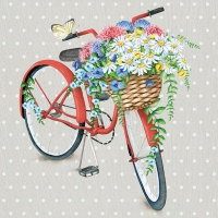 Servietten 33x33 cm - Bike-Kollektion