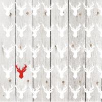 Servietten 33x33 cm - Ein Rotwild