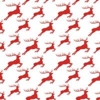 Lunch Servietten Jumping Deer Red