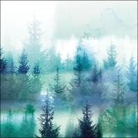 Lunch Servietten Forest Fog