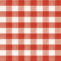 Servietten 33x33 cm - Square Red