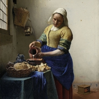 Lunch Servietten The Milkmaid