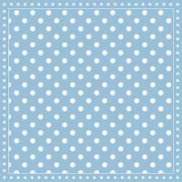 Servietten 33x33 cm - Stripes Dots Light Blue