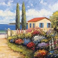 Servietten 33x33 cm - Florals by the Sea
