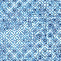 Servietten 33x33 cm - Hiba Blue