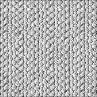Servietten 33x33 cm - Knitted Wool