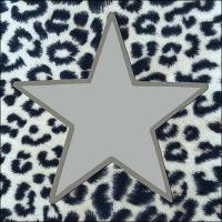 Servietten 33x33 cm - Wildlife Star Silver