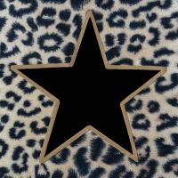 Servietten 33x33 cm - Wildlife Star Black