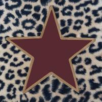Servietten 33x33 cm - Wildlife Star Berry