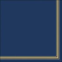 Servietten 33x33 cm - Lea Blue