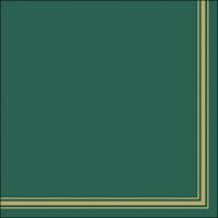 Servietten 33x33 cm - Lea Green