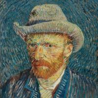 Servietten 33x33 cm - Van Gogh Self-Portrait