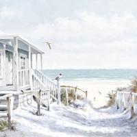 Servietten 33x33 cm - Beach Cabin