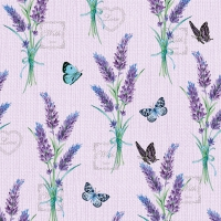 Servietten 33x33 cm - Lavender With Love Lilac