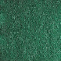 Servietten 33x33 cm - Elegance Dark Mint