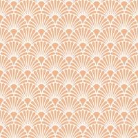 Servietten 33x33 cm - Art Deco Coral