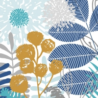 Servietten 33x33 cm - Summer Breeze Blue