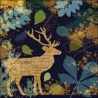 Servietten 33x33 cm - Autumn Deer
