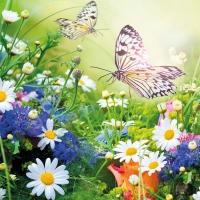 Servietten 33x33 cm - Wildflowers
