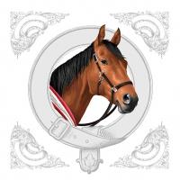Servietten 33x33 cm - Classic Horse
