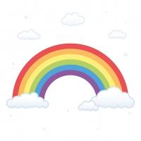 Servietten 33x33 cm - Rainbow