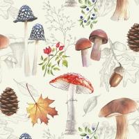 Servietten 33x33 cm - Autumn Nature