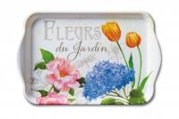 Tablett  Fleurs Du Jardin