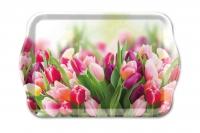 Tablett - Herrliche Tulpen