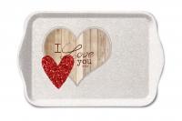 Tablett - I Love You