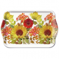 Tablett - Sunny Flowers Cream