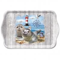 Tablett - Seal Couple