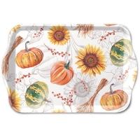 Tablett - Pumpkins & Sunflowers